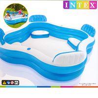 Intex Swim Center Family | Lounge Pool | Sitze Getränkehalter | 229x66cm 56475NP