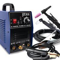CT312 3 in 1 WIG MMA CUT WIG Schweißer Wechselrichter Schweißmaschine 120A WIG / MMA 30A Plasmaschneider Tragbare Multifunktionsschweißgeräte 220V