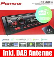 PIONEER MVH-S420DAB Autoradio inkl. DAB Antenne