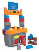 Mega Bloks Kleine Werkbank (36 Teile), Kleinkinder-Spielzeug, Bausteine