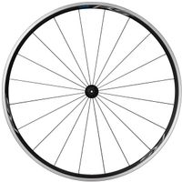 Shimano Road WH-RS100-CL Wheel Front QR 100mm Rim Brake schwarz