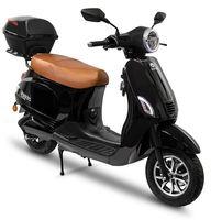 Elektroroller Motoroller Cityroller Retro Rolektro 45 V.2021schwarz