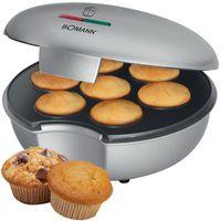 Bomann MM 5020 7 fach Muffinmaker silber