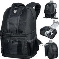 Bilora D-SLR Pro 327-R Backpack Pro Promo Rucksack Tasche SCHWARZ