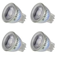 4x LED Lampen MR11 warmweiß 3W G4 / GU4 / MR11 Leuchtmittel Strahler 12V SEBSON