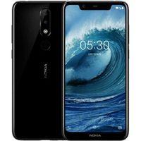 Nokia Smartphone 5.1 Plus, Dual-SIM 14,7 cm (5.8 Zoll), 1,8 GHz, 32GB, Farbe: Schwarz