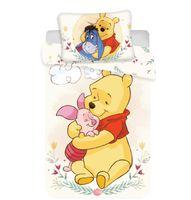 Disney Baby Kinder Bettwäsche Winnie Pooh beige 135x100 60x40