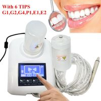 LCD Zahnsteinentferner Zahn Ultraschall Ultrasonic Zahnpolierer Scaler Ultraschallgerät Piezo Handstück 6 Tip