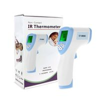 Fieberthermometer Berührungslos, Stirnthermometer Infrarot, Kontaktloses Infrarot-thermometer für Erwachsene, Kinder, Babys