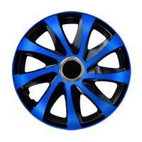 """Radkappen Radzierblenden Radblenden 4er Set Auto KFZ 14"""" blau"""