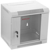 "RackMatic - Serverschrank 10"" rack 6HE 370x280x350mm weiss TENRack"