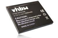 vhbw Akku kompatibel mit HP IPAQ HX20xx-Serie HX2000 Handy Smartphone Telefon (1500mAh, 3,7V, Li-Ion)
