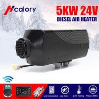 HCalory 5KW 24V Diesel Auto Air Heizung LCD Heater Luftheizung Standheizung LKW