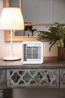 Camry 3in1 Mini Air Cooler   Tischventilator   700 ml Wassertank   50 Watt