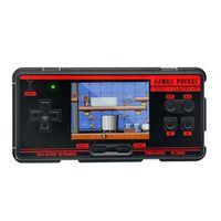 Retro tragbare Videospielkonsole, integriert 1091 klassische Spiele, unterstützt 8 AV-Ausgabeformate {rot}