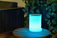 Outdoor Lampe MOOD LIGHT RONDOS, H 32 cm mit Bluetooth Lautsprecher