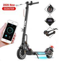 E-Scooter(ABE), Klappbarer Elektroroller, Straßenzulassung,LED-Lampe, Mechanische Hinterradbremse und elektrischen Bremse, Electric Scooter 8.5 Zoll, 2 Geschwindigkeitsmodi