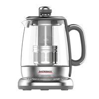 GASTROBACK 42440 Design Tee Automat Advanced Plus, Farbe:Silber