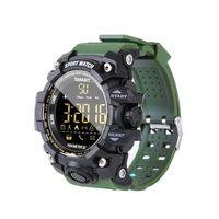 EX16S Camouflage Outdoor Sports wasserdichte intelligente Uhr BT Fernbedienung Kamera Armbanduhr