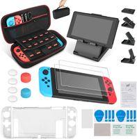 13 in 1 Nintendo Switch Zubehör, inkusive Nintendo Switch tragbare Tasche/Nintendo Switch Hülle