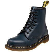 Dr. Martens - 1460 Navy Smooth Comfort, 11822411, 8-Loch Leder Stiefel Blau Größe 39 (UK6)