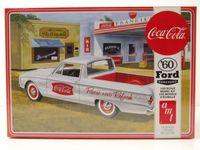 Ford Ranchero Pick Up 1960 Coca Cola Kunststoffbausatz Modellauto 1:25 AMT