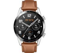 Huawei Watch GT 2 - 3,53 cm (1.39 Zoll) - AMOLED - Touchscreen - GPS - 41 g - Edelstahl