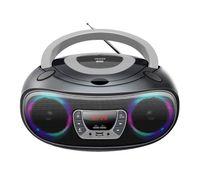 Denver Boombox mit CD-Player & Radio TCL-212BT, USB, Bluetooth, MP3, AUX, Farbe: Schwarz