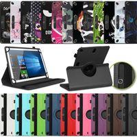 Tablet Schutzhülle für Samsung Galaxy Tab A7 10,4 Tasche Hülle Case 360 Drehbar, Farben:Schwarz