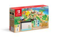 Nintendo Switch Konsole im Animal Crossing New Horizons Design inklusive Animal Crossing New Horizons