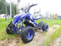 Quad Miniquad Kinder KXD ATV 4A 4 Zoll 49ccm 2 Takt Pocketquad Kinderquad Blau