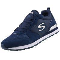Skechers Retros Damen Sneaker Blau Schuhe, Größe:38