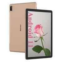 2021 Blackview Tab10 Android 11 Tablet 7480mAh Akku 4GB+64GB Face ID 13MP+8MP Kamera 4G LTE + 5G-WiFi Dual SIM Tablets-PC (Gold)