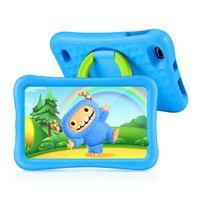 Vankyo S8 Kinder Tablet 8 Zoll, 2GB RAM, 32GB ROM, Kidoz Vorinstalliert, 1080p Full HD-Display, WiFi Android Tablet Kinder mit 5MP Kamera, Kindersicher, Tablet für Kinder mit kindgerechter Hülle, Blau