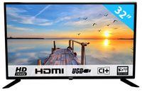 HKC 32F1D 80 cm (32 Zoll) LED Fernseher (HD, Triple Tuner, CI+, 2X HDMI, Mediaplayer USB 2.0) []