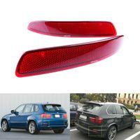 Für BMW X5 E70 2006-13 Rot Linse Reflektor Stoßstange Rückstrahler Rechts+Links