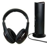 HiFi Wireless Kopfhörer TV Computer FM Radio Ohrhörer Headsets mit Mikrofon