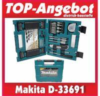 Makita D-33691 Bohrer-Bit-Set 71-tlg. Zubehör-Koffer