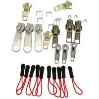 32 Stücke Fix Ein Reißverschluss Reißverschluss Slider Rescue Instant Kit Reparatur Ersatz Zubehör