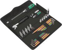 Wera Kraftform Kompakt F 1 Schraubwerkzeugsatz für Fensterbauer 05134013001