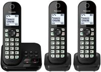 Panasonic KX-TGC463GB, schwarz - Telefon - Anrufbeantworter