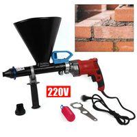 Fugenpistole mit Zubehör für Mörtel Mörtelpresse Mörtelspritze 700W 220V Zement Beton Sprayer Mörtelpumpe