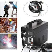 Schweißgerät MIG130 Elektrodenschweißgerät Profi Elektroden Fülldraht Schweißmaschine 230V  120A 55-120 Schwarz