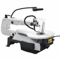 vidaXL Dekupiersäge mit Beleuchtung Stahl Schnitttiefe 406 mm