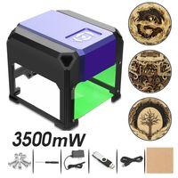 Audew 3500MW USB Lasergravur Graviermaschine DIY Holzschneider Logo Drucker Für OS Win