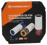 Hammerschmitt - Schoneinsätze für Schlagschrauber KFZ Auto Werkstatt Steckschlüssel Radmontage Schonnüsse