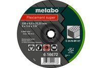 Metabo Flexiamant super 230x6,0x22,23 SteinSchruppscheibegekröpfte Ausführung