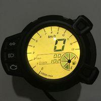 1 Stück Motorrad Tachometer : DC 12V aus ABS Kunststoff Für Yamaha BWS125