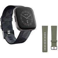 Fitbit Versa 2 SE (NFC) Smoke Woven, Farbe:Grau