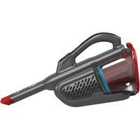 Black + Decker BHHV315B 12V Dustbuster Akkustaubsauger Titanium/Rot, Farbe:Titanium/Rot